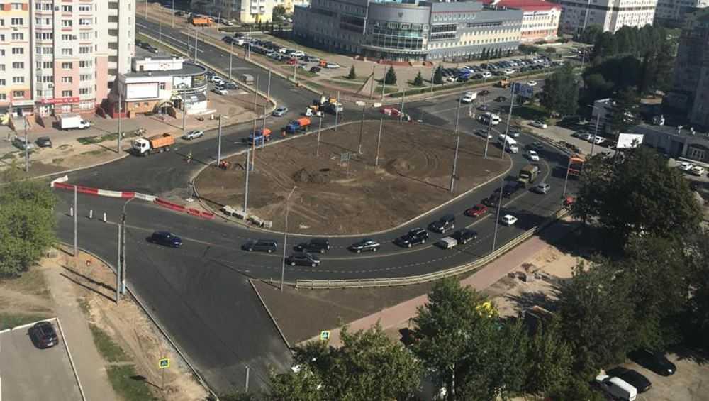 Внутри кольца на улице Советской в Брянске разобьют клумбу