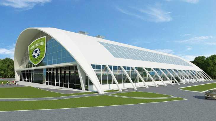 В следующем году в Брянске начнут строить крытый футбольный манеж