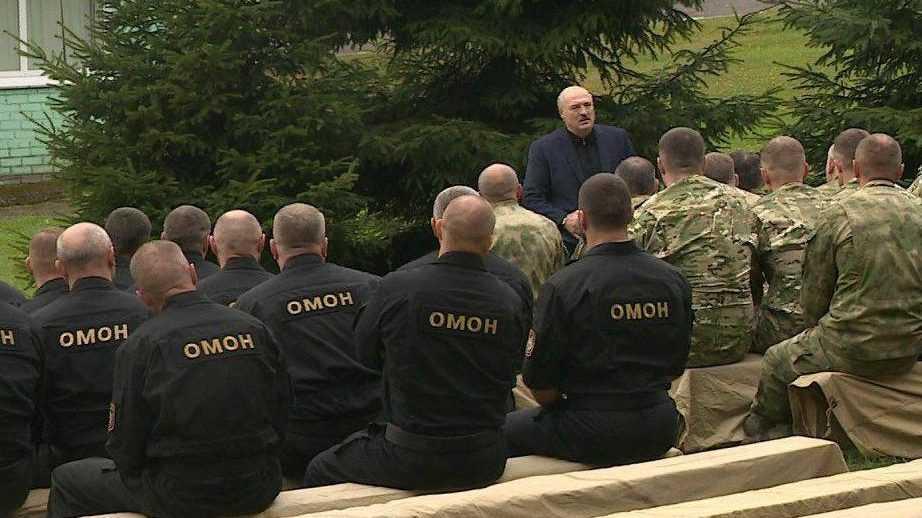 Власти Белоруссии начали аресты провокаторов