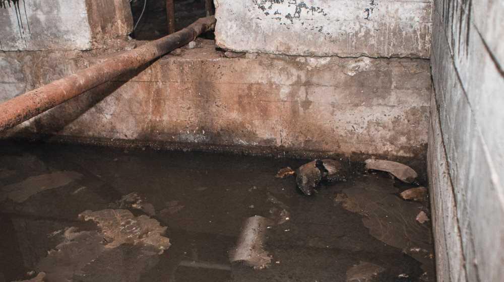 В Унече коммунальщика наказали за хлам в затопленном подвале многоэтажки