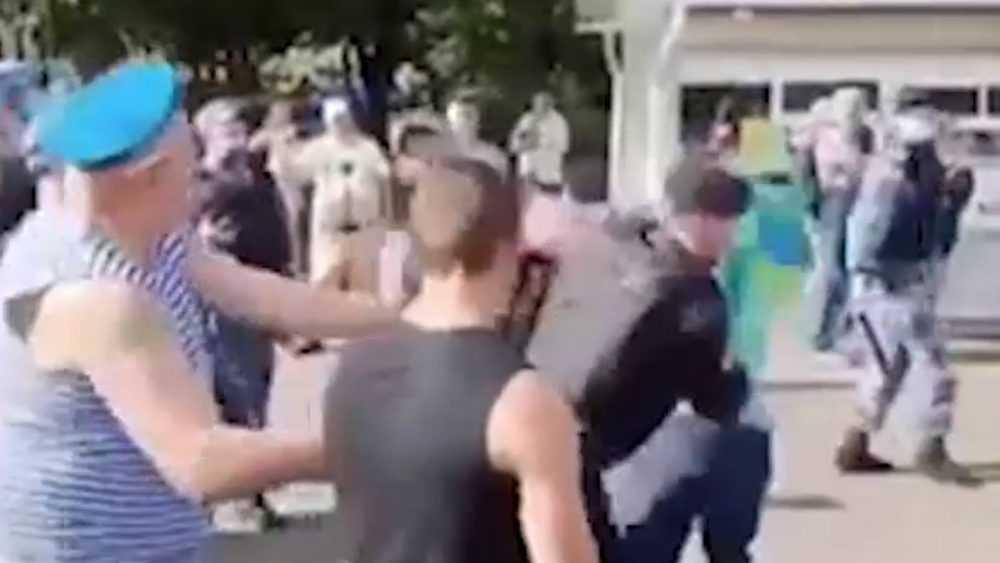 День ВДВ омрачился инцидентом в Москве