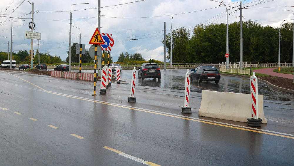 Новая дорога по улице Советской в Брянске построена на 91 процент