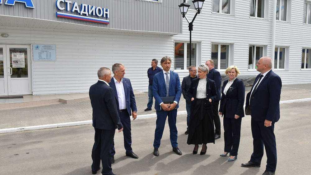 Министерство дало высокую оценку развитию спорта вБрянской области