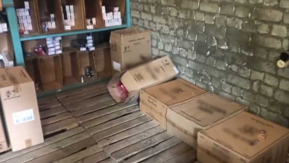 У брянца изъяли партию поддельных сигарет на сумму более 22 млн рублей