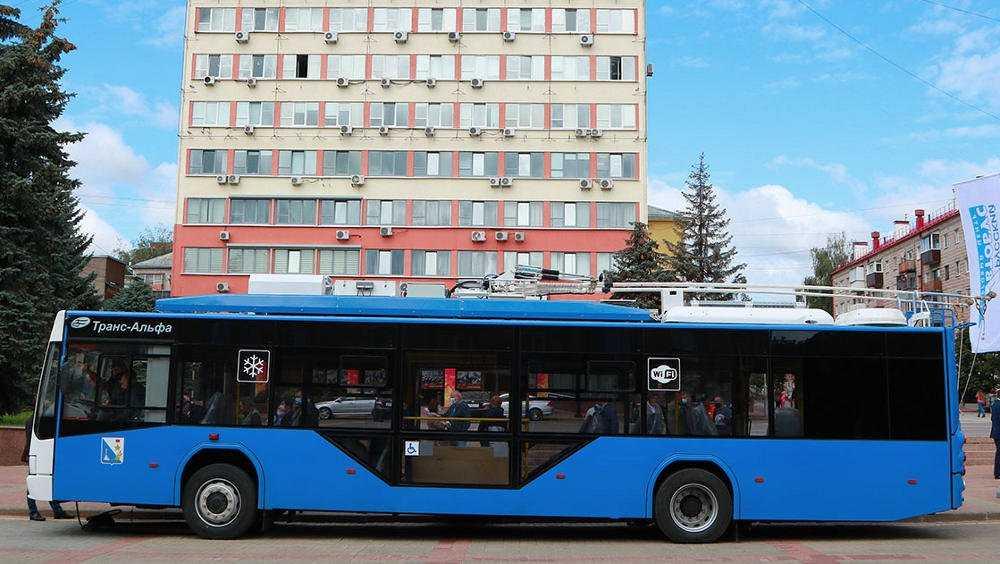 Для Брянска закупят 70 новых троллейбусов