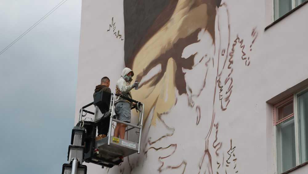Брянскую гостиницу «Турист» украсит портрет легендарного партизана