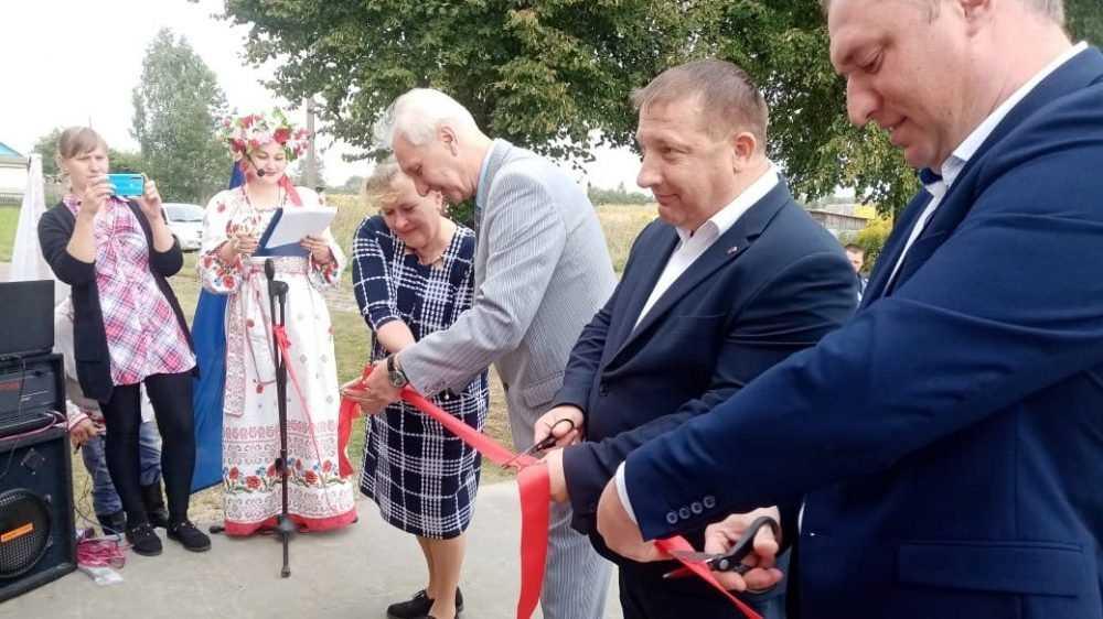 В Выгоничском районе открыли обновленный Красносельский Дом культуры