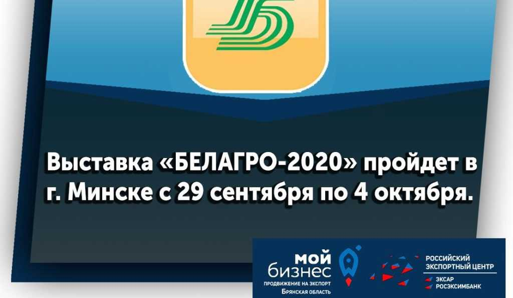 Брянские компании отправляются в Белоруссию вместе с «Мой Бизнес