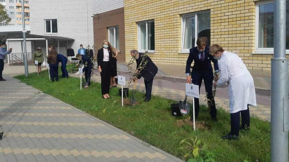 Брянские молодогвардейцы и депутаты от «Единой России» присоединились к международной акции «Сад памяти»