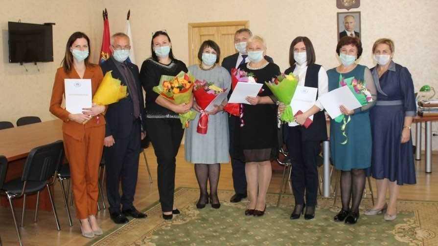 Работники дошкольного образования награждены благодарственными письмами Валентины Мироновой