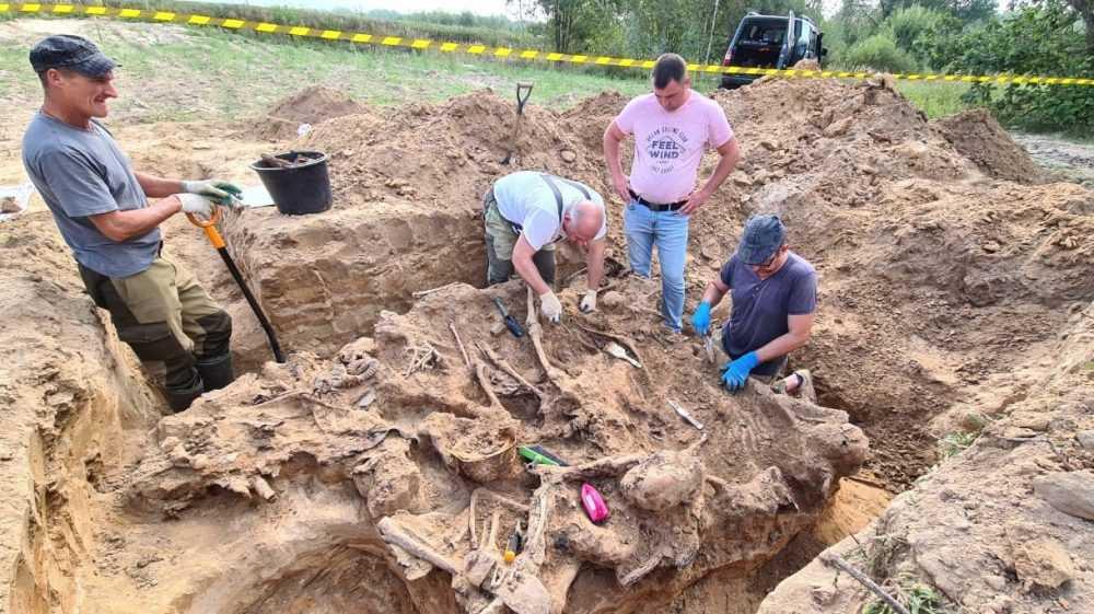 В Почепском районе Брянского региона обнаружены останки советских солдат