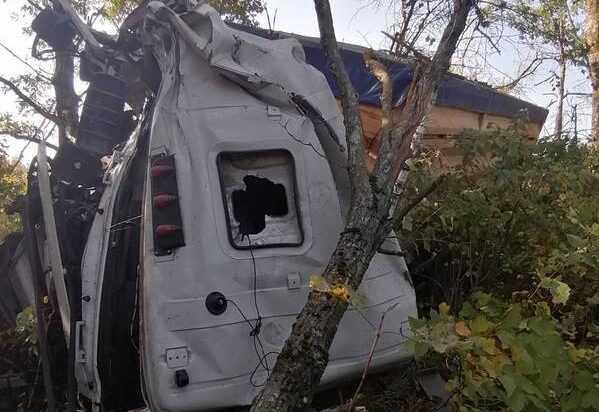 На брянской трассе произошла серьезная авария