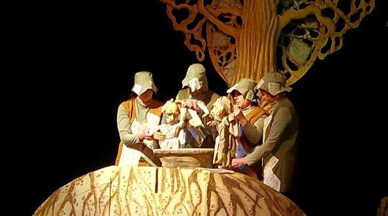 Благодаря партийному проекту «Культура малой Родины» Брянский театр кукол выступает в Тольятти