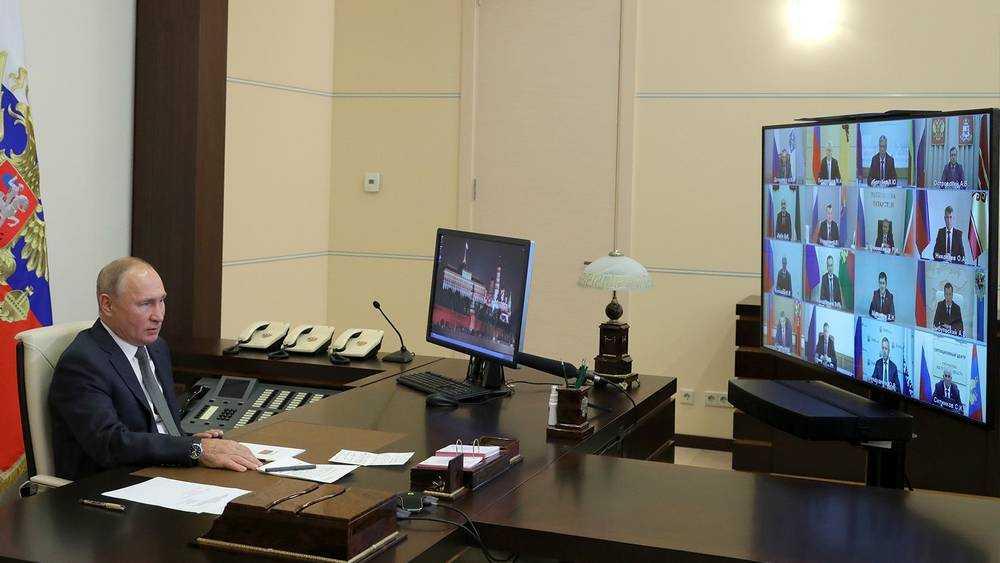 Путин поздравил Богомаза и пожелал продолжения успешной работы
