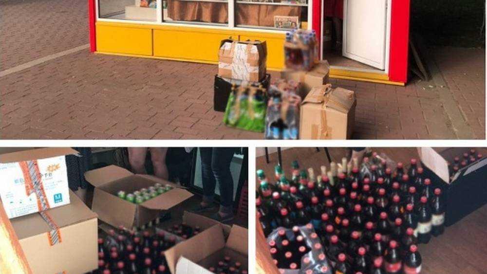 В Брянске скандальный газетный киоск уличили в продаже алкоголя