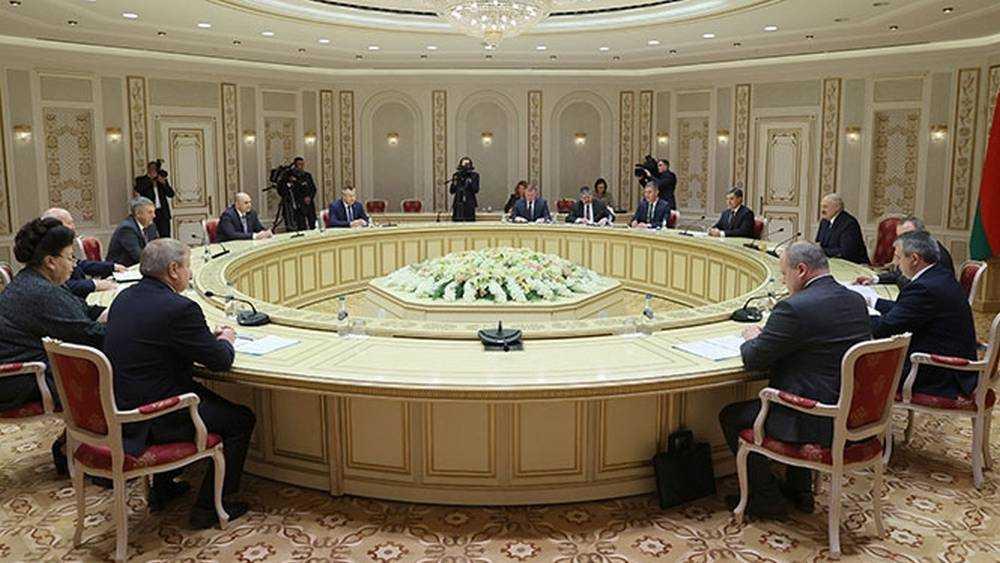 Брянский губернатор встретился с президентом Белоруссии Лукашенко