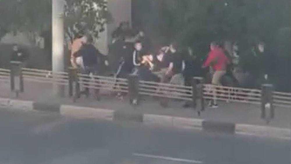 Полиция рассказала о массовой драке футбольных фанатов в Брянске