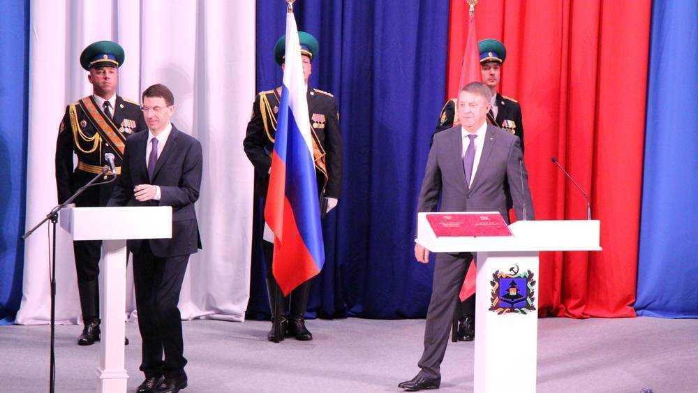 Богомаз отправил в отставку правительство Брянской области