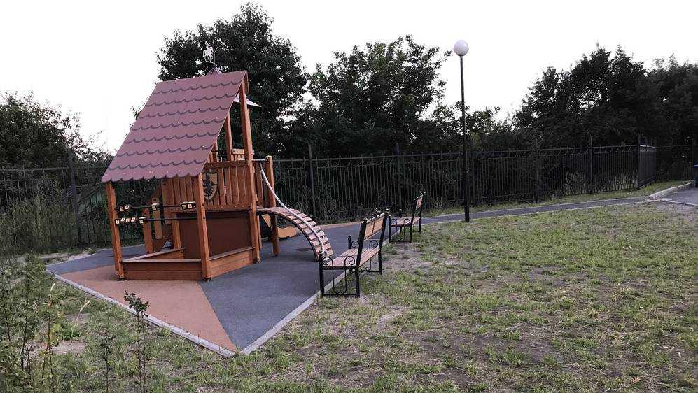 Площадки для детей в Брянске стали еще меньше