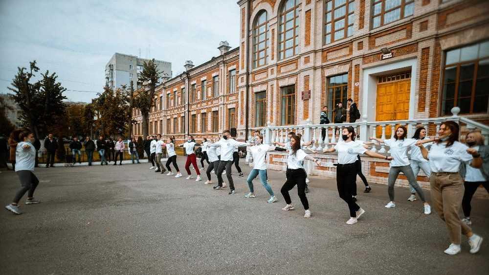 Брянские студенты зарядились бодростью на свежем воздухе