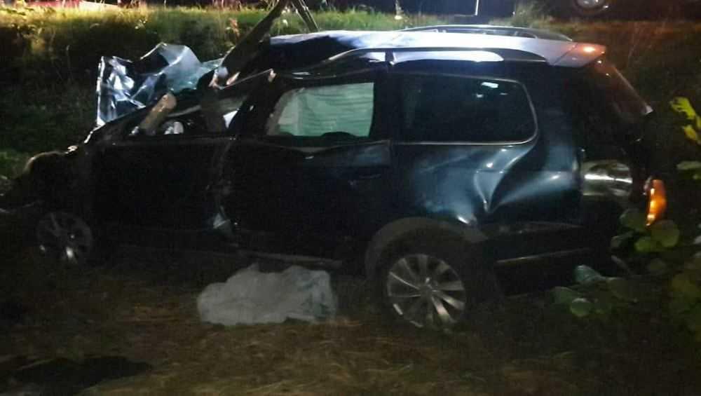 В Брянской области погибли пьяный водитель и его пассажир