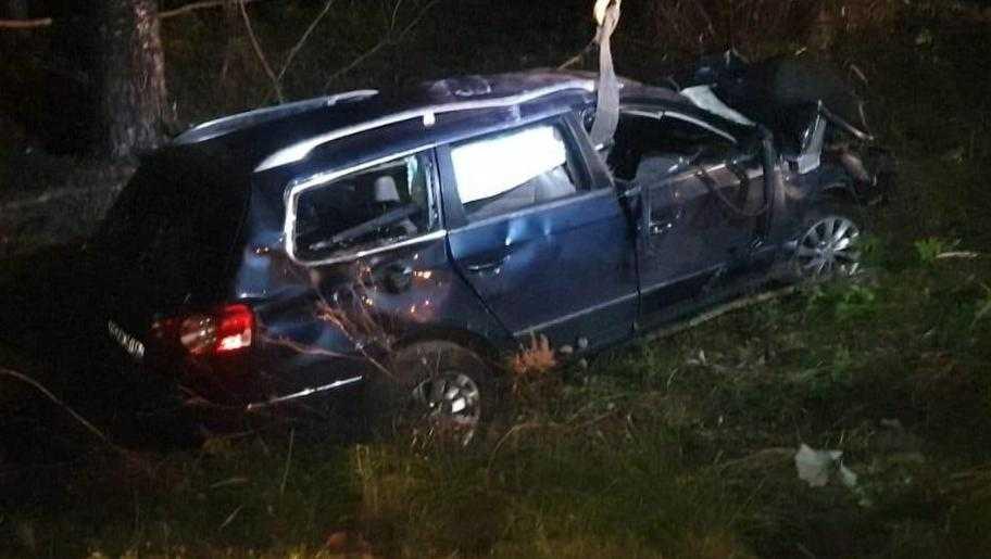 В Рогнединском районе пьяный водитель погубил себя и пассажира