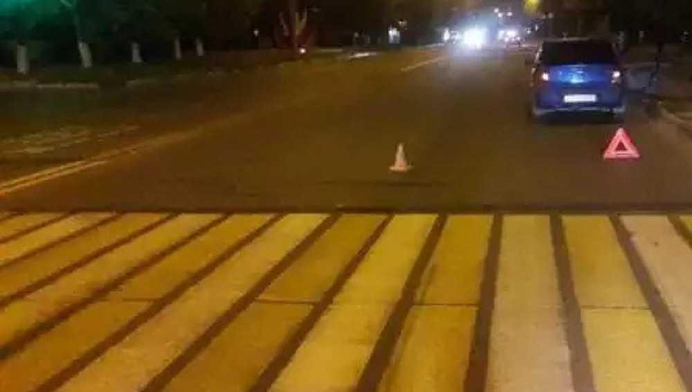 В Брянске на пешеходном переходе водитель «Рено» сбил женщину