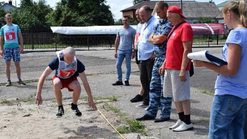 В Брянске 30 осужденных решили получить значки ГТО
