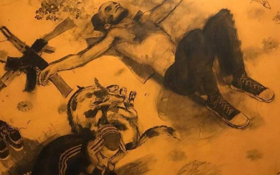 Странные картины появились в Третьяковской галерее