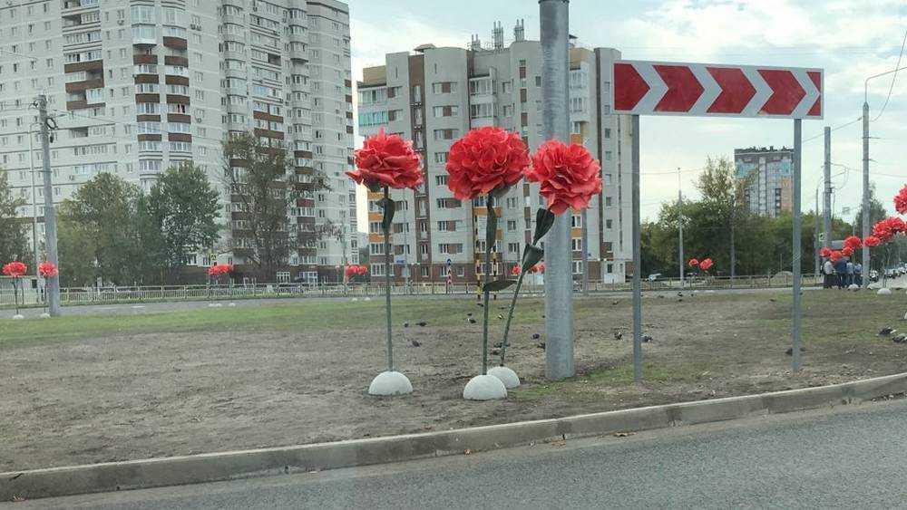 В Брянске открыли новую дорогу на Советской улице