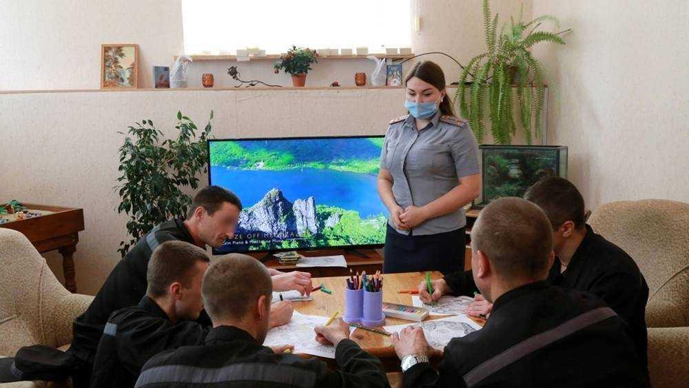 Психологи УФСИН России по Брянской области применяют технику Зентангл в психокоррекционной работе с осужденными