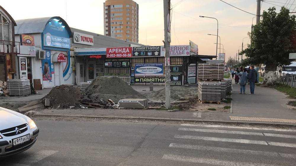 В Брянске взялись за самый страшный постсоветский уголок микрорайона