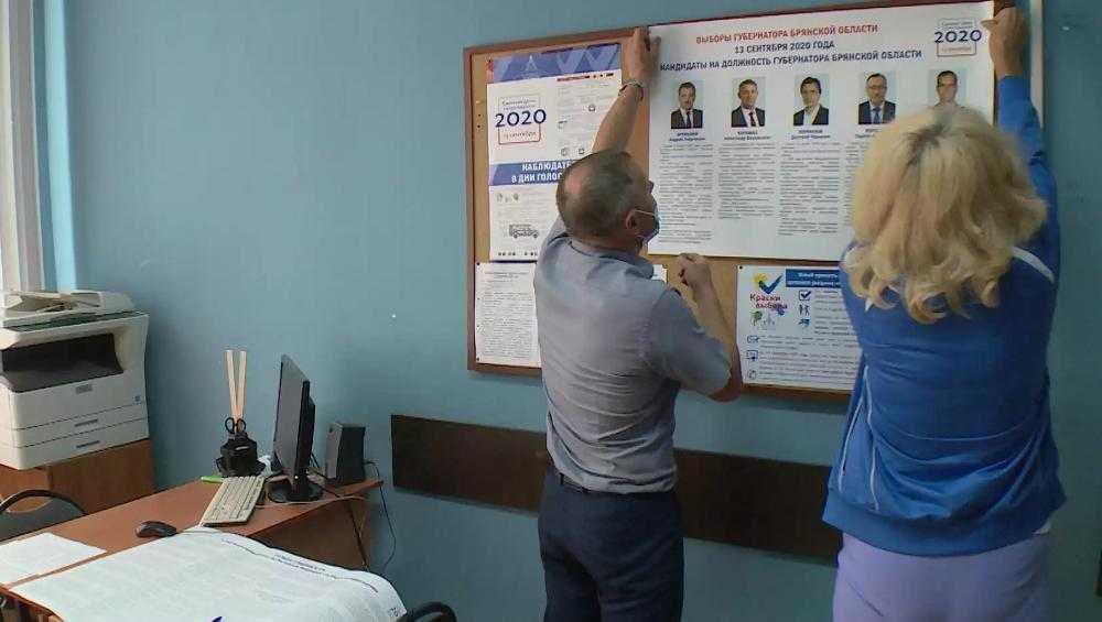 В Брянской области на избирательных участках началась горячая пора