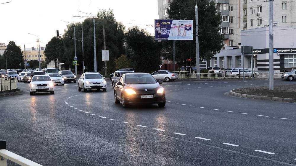 Новая развязка на Советской ввела в грех тысячи брянских водителей