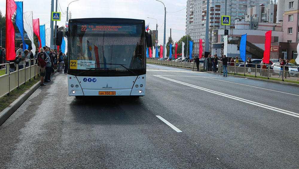 В Брянске по новой дороге на Советской пустят автобусы 4 маршрутов