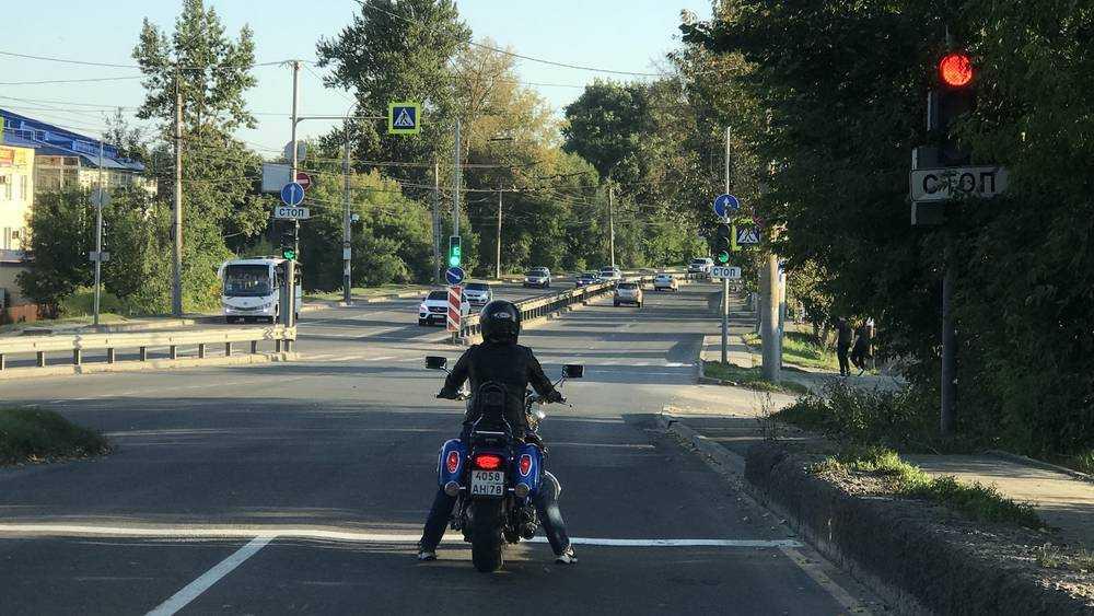В Брянске дамы стали пересаживаться на мотоциклы