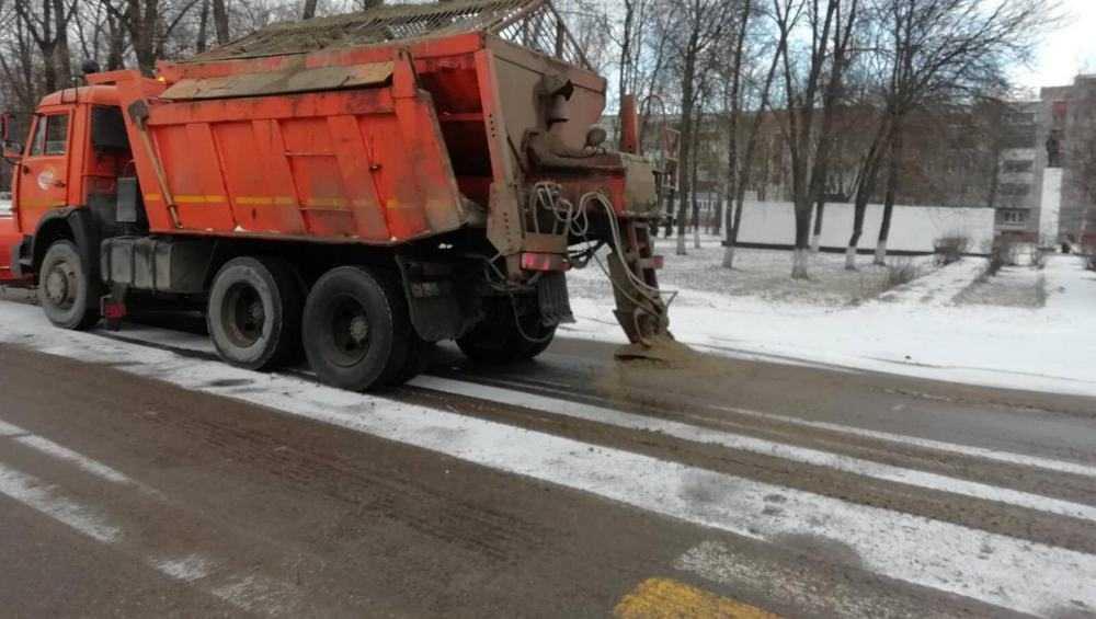 Брянские дорожники начали готовиться к зиме