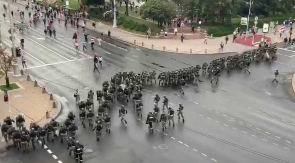 На акциях протеста в Белоруссии задержали более 100 провокаторов