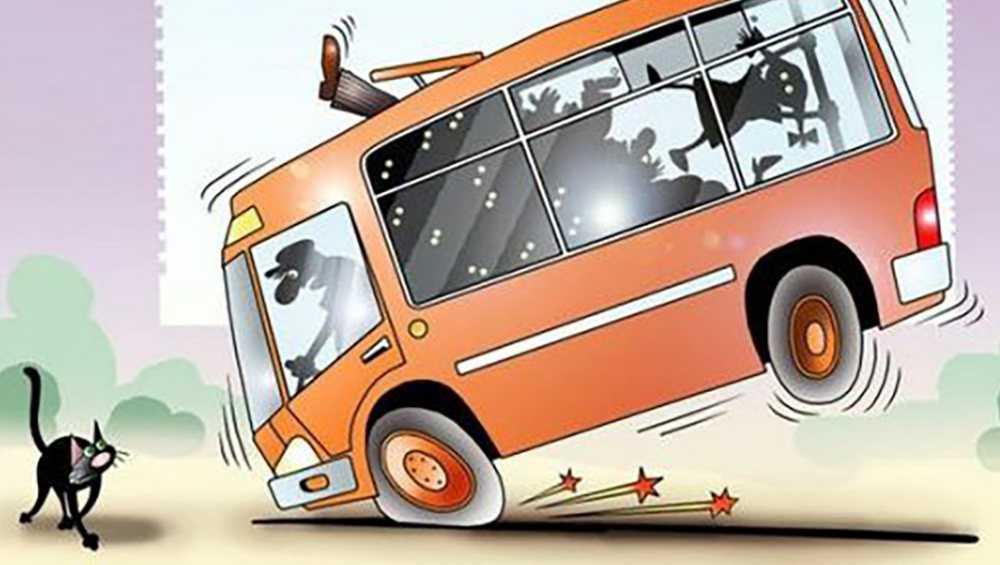 В Брянске госпитализировали упавшую в автобусе пенсионерку