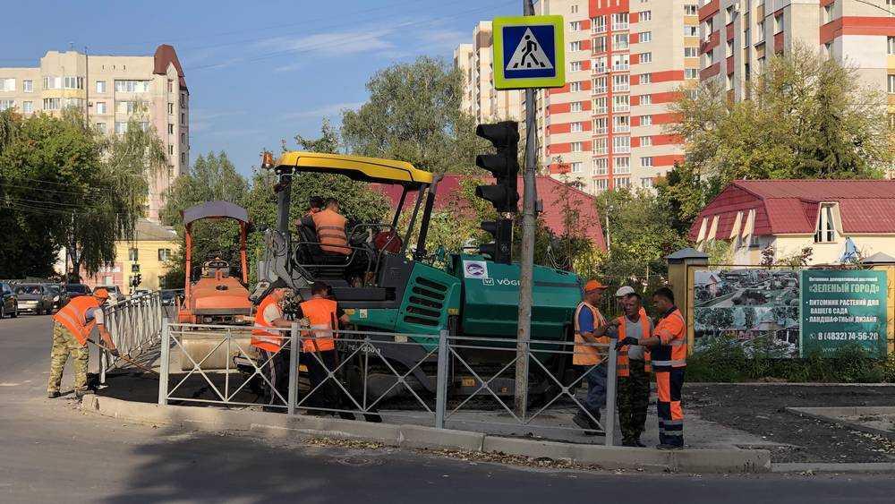 В Брянске обновят древний тротуар на улице Фокина