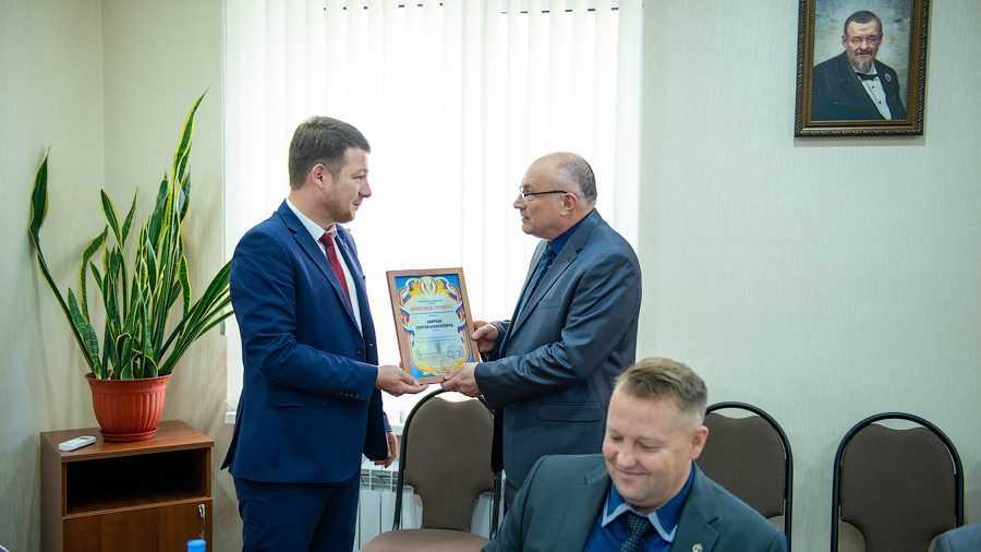Брянского адвоката Сергея Лаврова наградили Почетной грамотой