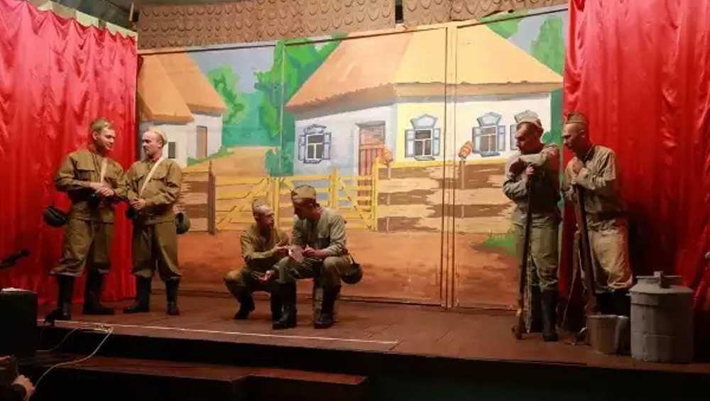 В брянской колонии зэки поставили спектакль «Они сражались за Родину»