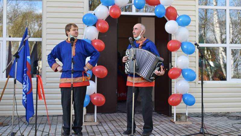 После реконструкции торжественно открылся сельский Дом культуры в Клетнянском районе