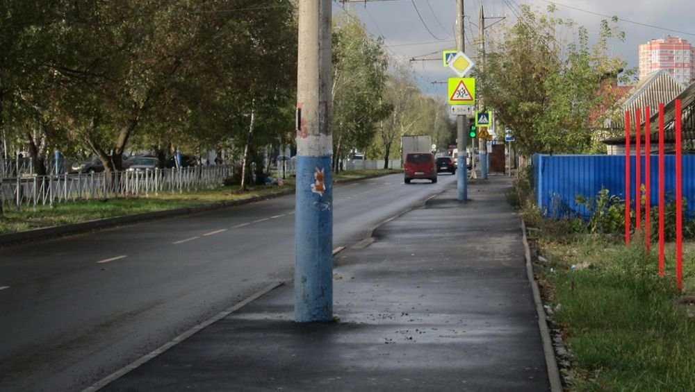 В Брянске дорогу по улице 22 Съезда примут после исправления недочетов