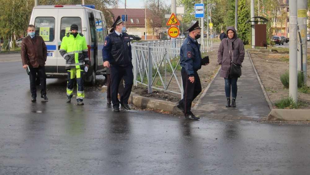 В Брянске на улице 22-го съезда дорожники исправят недочеты ремонта