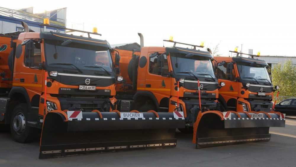 Федеральные дорожники в Брянской области приготовились к снежной зиме