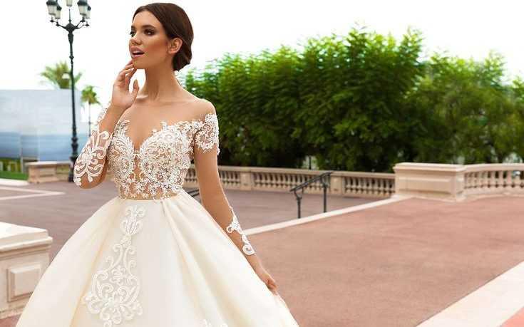 Как выбрать кружевное свадебное платье