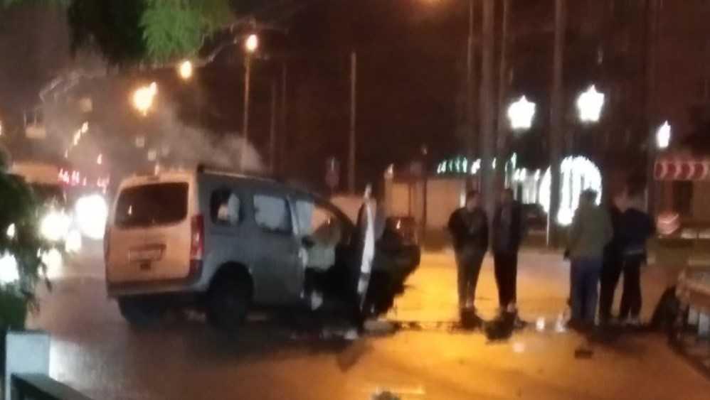 В Брянске на кольце у «Полтинника» произошло серьёзное ДТП
