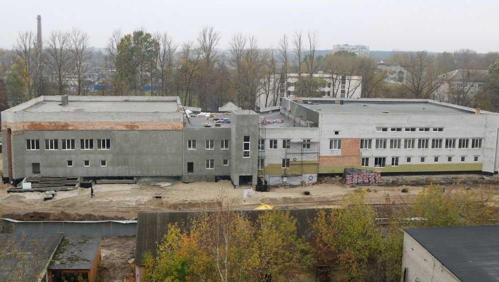 На строящемся в Бежице бассейне выполнено более 60 процентов работ