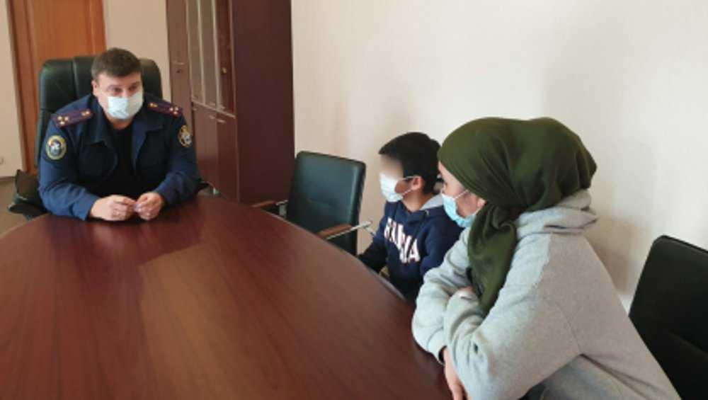 Главный брянский следователь побеседовал с 11-летним беглецом